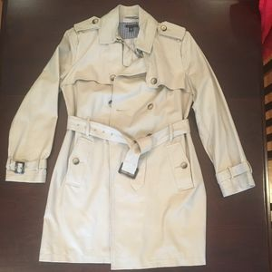 NWT Tommy Hilfiger Classic Belted Trench